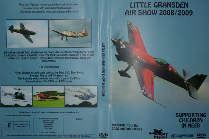 Little Gransden Air show 2008/2009 DVD | Simply Planes