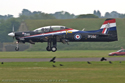 Short S-312 Tucano T1 S095/T66 ZF295 at Cosford Air Show 2007