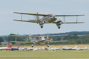 de Havilland DH.89 Dragon Rapide two-ship at Duxford Flying Legends 2008