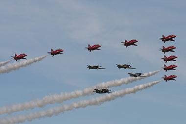 The Eagle Squadron at Duxford Spring Air Show 2013