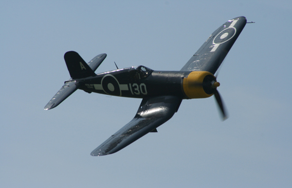 Goodyear FG-1D Corsair G-FGID N8297 at Goodwood Air Show