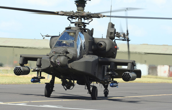 AH-64D Longbow Apache at the RAF Northolt Photocall Event 2007