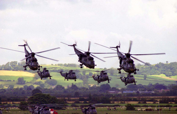 Westland WS-61 Sea King display at RNAS Yeovilton International Air Day 2003