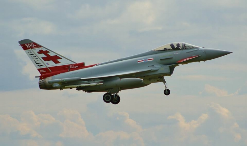 41(R) Squadron 100th anniversary Typhoon - 2nd September 2015