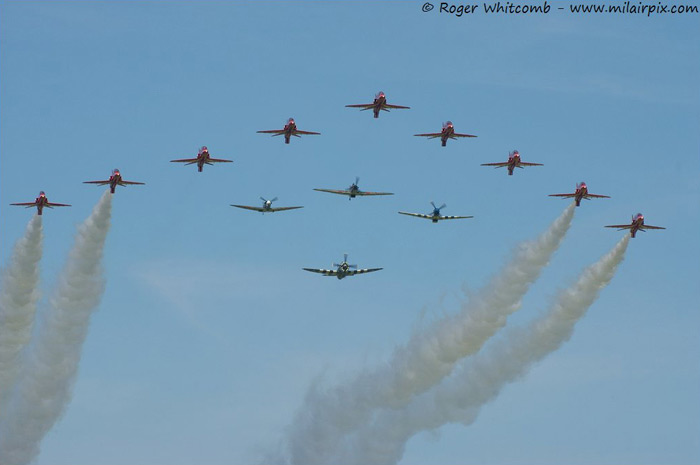 The Eagle Squadron and the Red Arrows