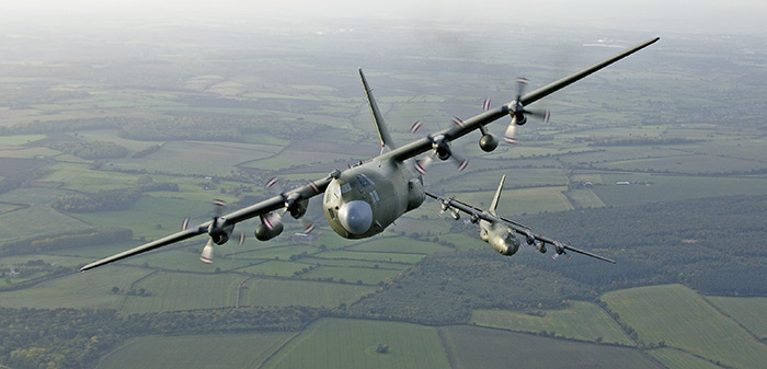C-130K Hercules retirement from the RAF