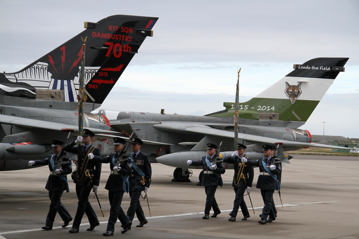 Farewell to No. 12 (B) and 617 Squadron at RAF Lossiemouth