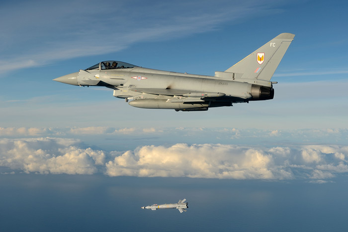 First Paveway IV release for RAF Typhoons at RAF Lossiemouth