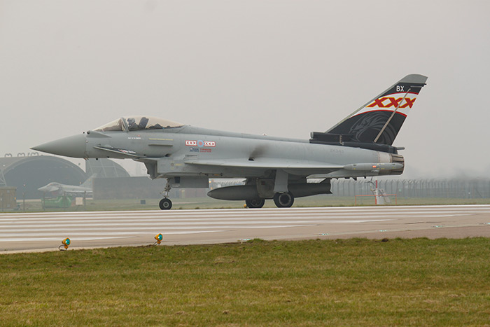Typhoon ZK343/BX was unveiled today with its new tail art ready for this years display season