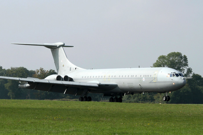 VC10 ZA150 delivery to Dunsfold Aerodrome on Tuesday 24th September