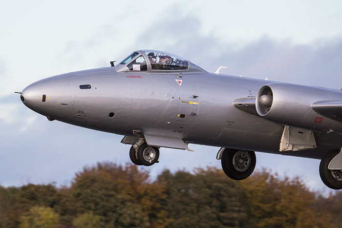 Canberra PR9 XH134 at Kemble Airfield