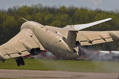 Victor XM715 at Bruntingthorpe