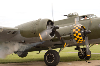 B-17 Flying Fortress Sally B at The Duxford Air Show 2009