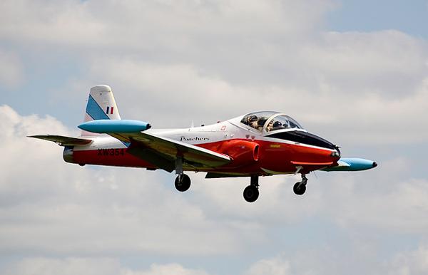 BAC Jet Provost. Photo by Ian Bracegirdle