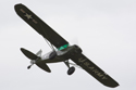Justin Needham in his Piper L21B Super Cub - US Army at the East Kirkby RAFBF Air Show 2010