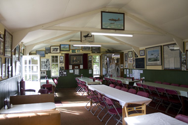Inside the NAAFI