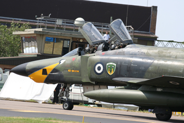McDonnell Douglas F-4 Phantom II at Royal Air Force Waddington Air Show 2006