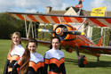 Breitling Team Wingwalking girls - Stella Guilding, Danielle Hughes and Sarah Tanner