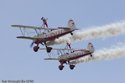 Team Guinot Wingwalkers at Cosford Air Show 2009