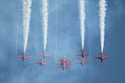 The Red Arrows at Waddington Air Show 2009