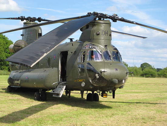 Boeing-Vertol Chinook at Cosford Air Show 2009