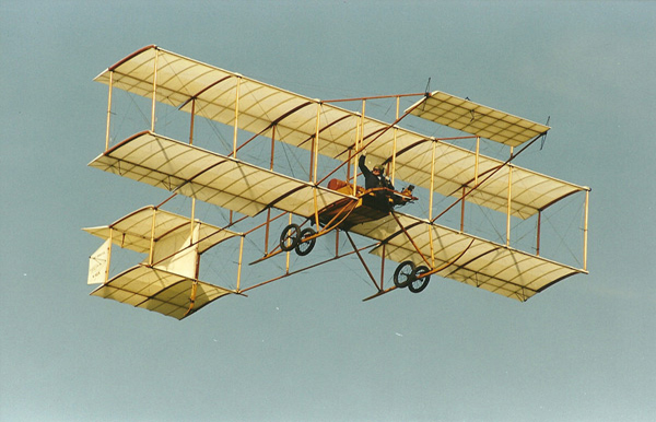 Bristol Boxkite replica at Old Warden Air Show 2003