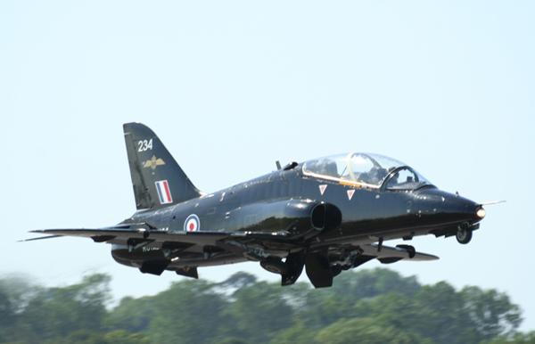 BAE Systems Hawk. Photo by Bob Franklin
