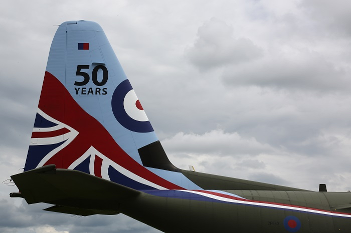 Fifty Years of Supporting the RAF's C-130 Fleet