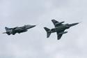 SEPECAT Jaguar 2-ship formation at RAF Coltishall