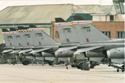 SEPECAT Jaguar static line up at RAF Coltishall