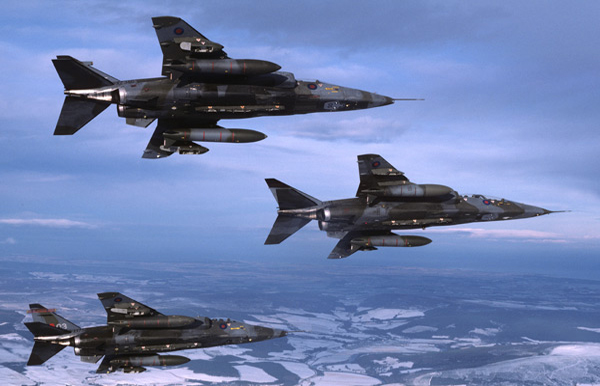 SEPECAT Jaguars. Photo by Photo by Denis J. Calvert Inter-Air Press