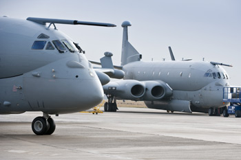 BAE Systems Nimrod MRA4 at Woodford, Cheshire