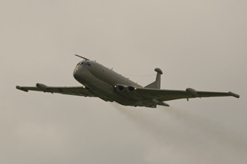 Hawker Siddeley Nimrod MR2 (801) 8007 XV232 delivery at Coventry