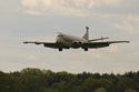 Hawker Siddeley Nimrod MR2 (801) 8007 XV232 delivery at Coventry Airport