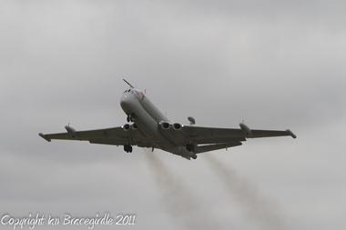 Nimrod R1 XV249 last flight