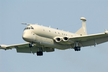 Nimrod MR2 XV255 delivery at the City of Norwich Aviation Museum
