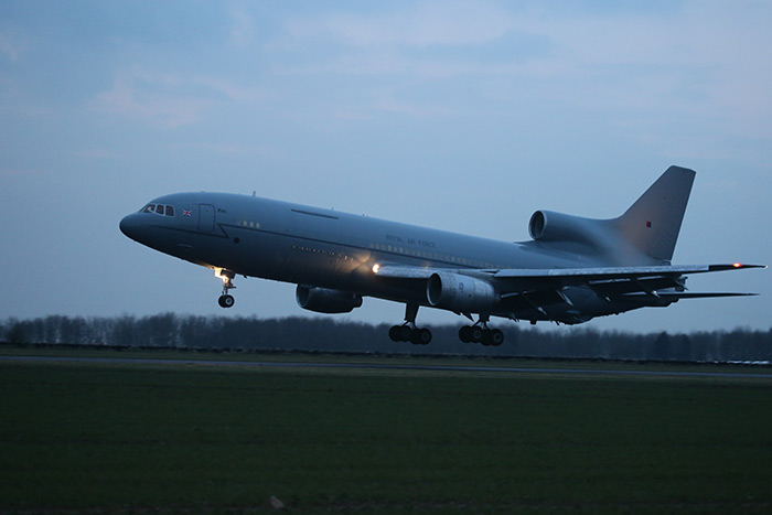 TriStar ZD948 at Bruntingthorpe Airfield. 25th March 2014. Photo by Steven Comber