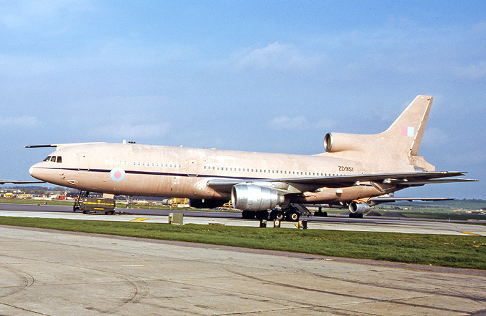 TriStar ZD951 in temporary desert pink finish for Operation Granby. Photo by Bob Archer