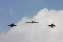 Hawker Hurricane Mk IV G-HURY/KZ321 and SEPECAT Jaguars at RAF Coltishall Last Enthusiasts Day