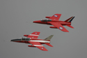 Folland Gnat T1 G-RORI/XR538 and G-FRCE/XS104 at RAF Coltishall Last Enthusiasts Day