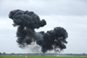 Airfield attack at the 25th anniversary of the Tornado at RAF Marham