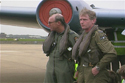 Squadron Leader Terry Cairns and Squadron Leader Brian Cole