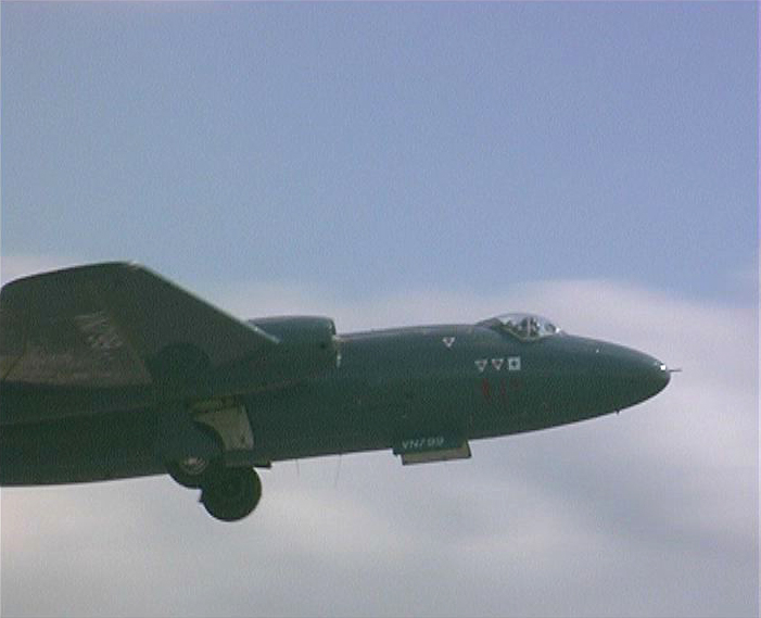 last canberra training aircraft