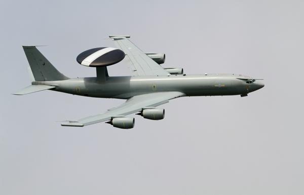 Boeing E-3D Sentry AEW1 ZH102. Photo by Bob Franklin