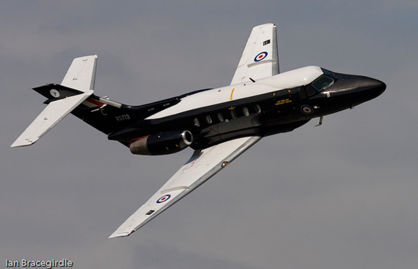 Hawker Siddeley Dominie T1. Photo by Ian Bracegirdle