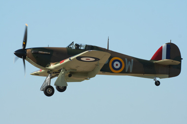 Hawker Hurricane Mk I G-HUPW R4118 UP-W