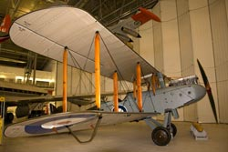 de Havilland Airco DH.9 D-5649 W2 5649 at the Imperial War Museum Duxford