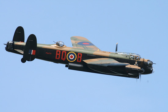 Avro Lancaster Mk BI PA474 The phantom of the Ruhr at Goodwood Air show